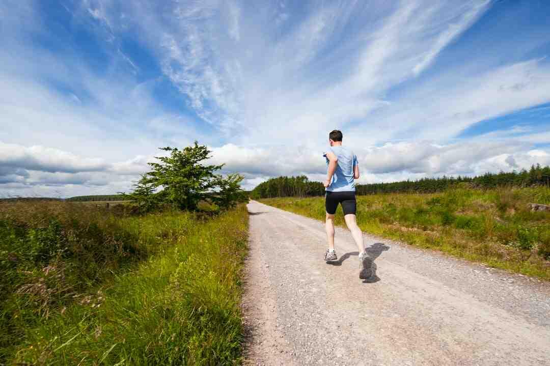 Course à pied fractionné