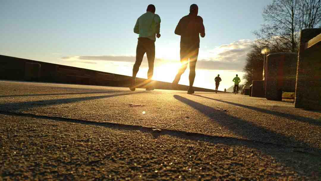 Course à pied débutant surpoids